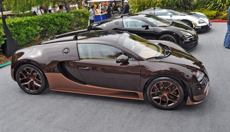 Car-Revs-Daily.com All Six Bugatti Veyron Legends Together In Pebble Beach 2014 57