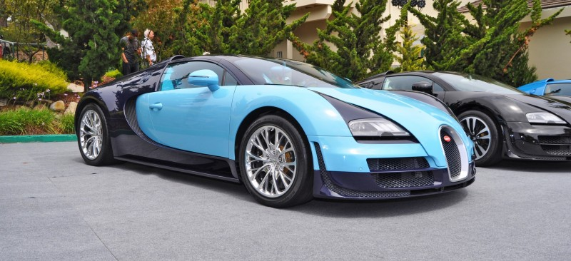 Car-Revs-Daily.com All Six Bugatti Veyron Legends Together In Pebble Beach 2014 7