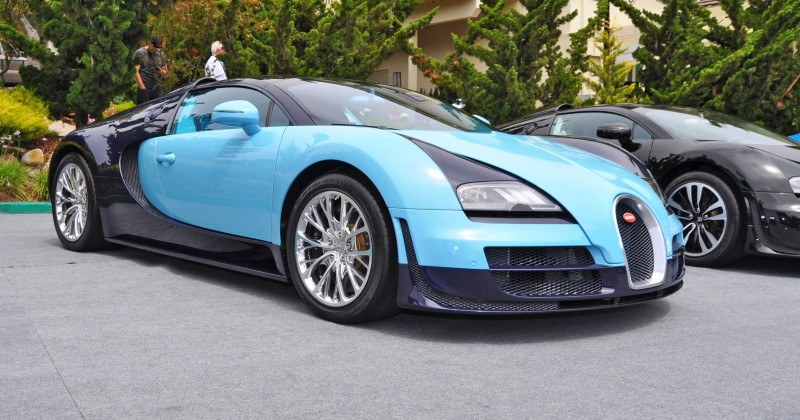 Car-Revs-Daily.com All Six Bugatti Veyron Legends Together In Pebble Beach 2014 8