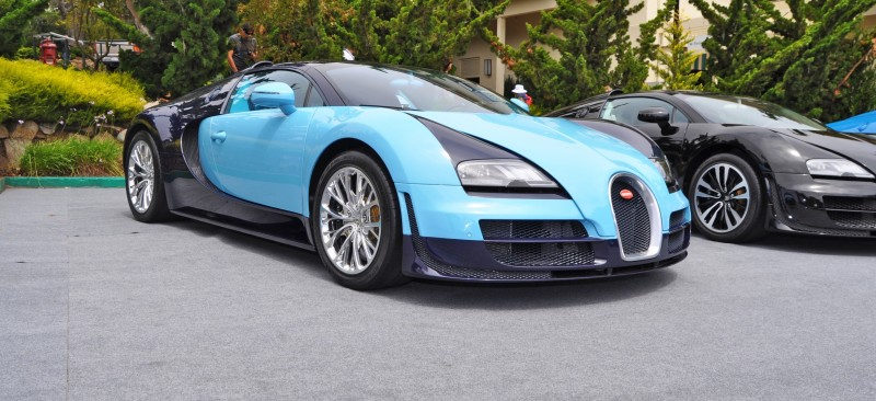 Car-Revs-Daily.com All Six Bugatti Veyron Legends Together In Pebble Beach 2014 9