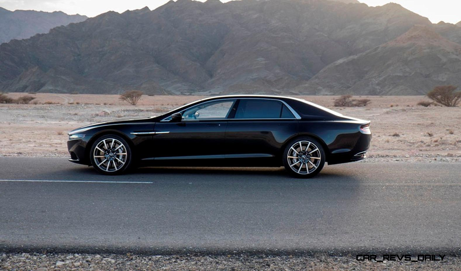 2015 Aston Martin Lagonda In 27 New Hot Weather Testing Photos