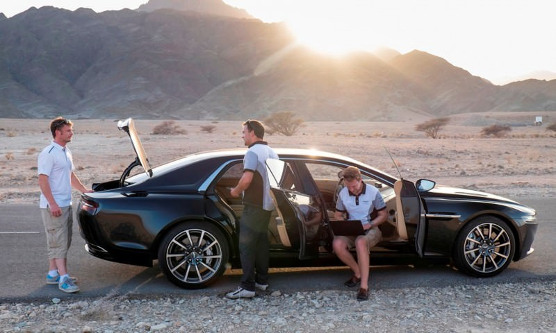 Car-Revs-Daily.com Aston Martin Lagonda Oman Testing 20