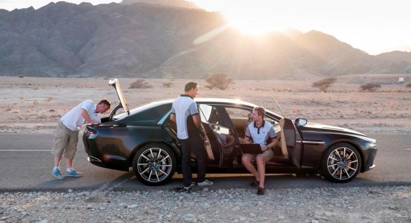 Car-Revs-Daily.com Aston Martin Lagonda Oman Testing 21