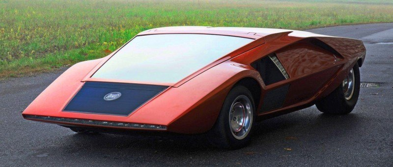Car-Revs-Daily.com Atlanta Dream Cars - 1970 Lancia Stratos HF ZERO by Bertone 1