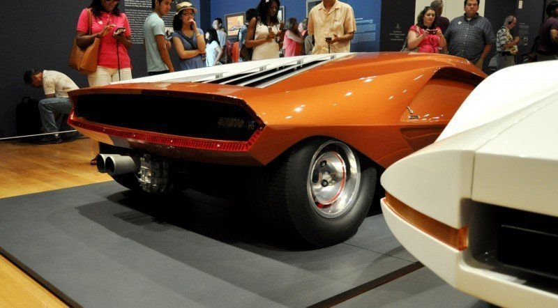Car-Revs-Daily.com Atlanta Dream Cars - 1970 Lancia Stratos HF ZERO by Bertone 10