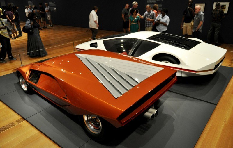 Car-Revs-Daily.com Atlanta Dream Cars - 1970 Lancia Stratos HF ZERO by Bertone 14