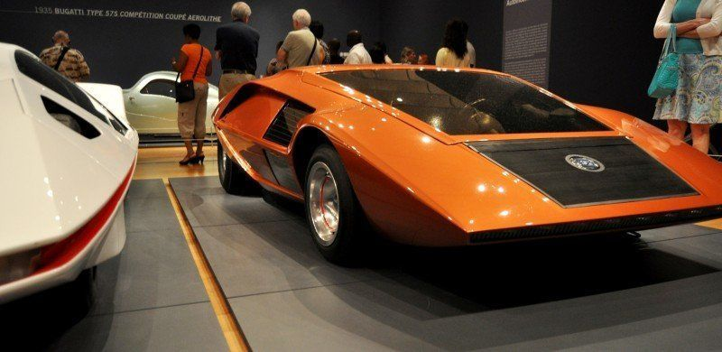 Car-Revs-Daily.com Atlanta Dream Cars - 1970 Lancia Stratos HF ZERO by Bertone 16