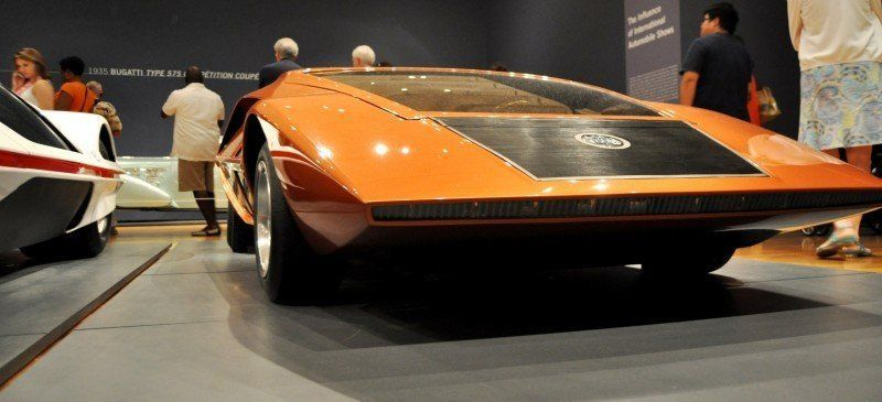 Car-Revs-Daily.com Atlanta Dream Cars - 1970 Lancia Stratos HF ZERO by Bertone 18
