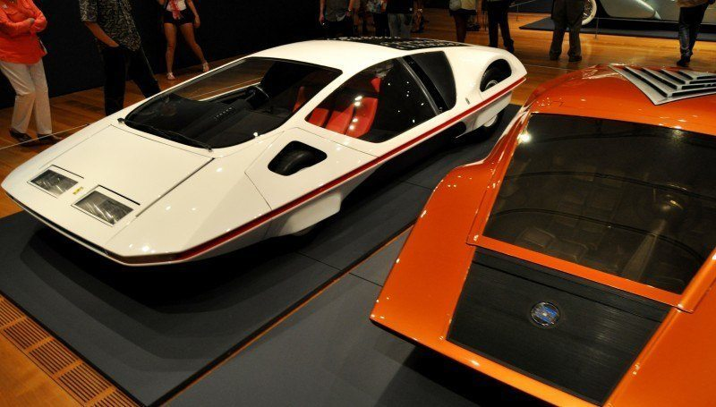 Car-Revs-Daily.com Atlanta Dream Cars - 1970 Lancia Stratos HF ZERO by Bertone 21
