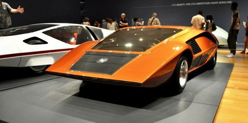 Car-Revs-Daily.com Atlanta Dream Cars - 1970 Lancia Stratos HF ZERO by Bertone 24