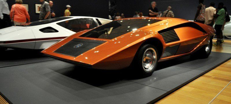 Car-Revs-Daily.com Atlanta Dream Cars - 1970 Lancia Stratos HF ZERO by Bertone 25