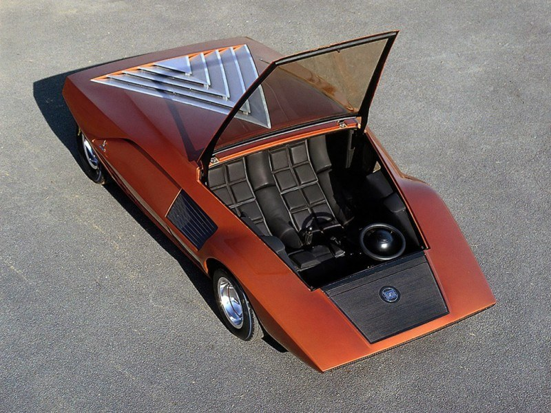 Car-Revs-Daily.com Atlanta Dream Cars - 1970 Lancia Stratos HF ZERO by Bertone 28