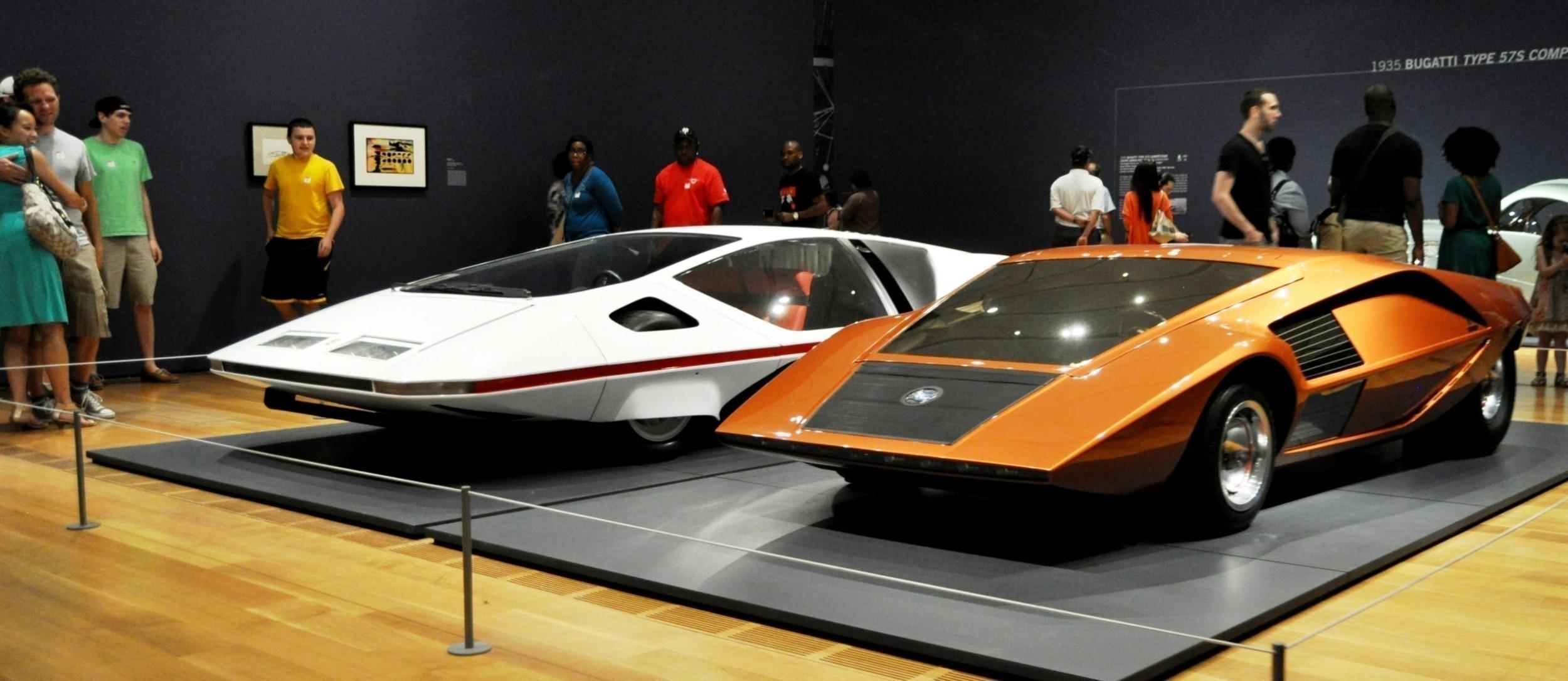 atlanta dream cars showcase 1970 lancia stratos hf zero by bertone. Black Bedroom Furniture Sets. Home Design Ideas