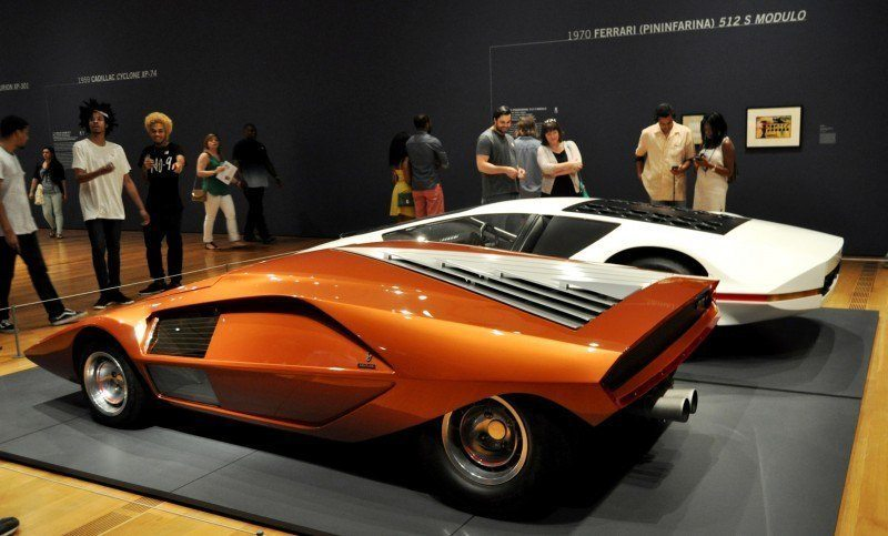 Car-Revs-Daily.com Atlanta Dream Cars - 1970 Lancia Stratos HF ZERO by Bertone 4