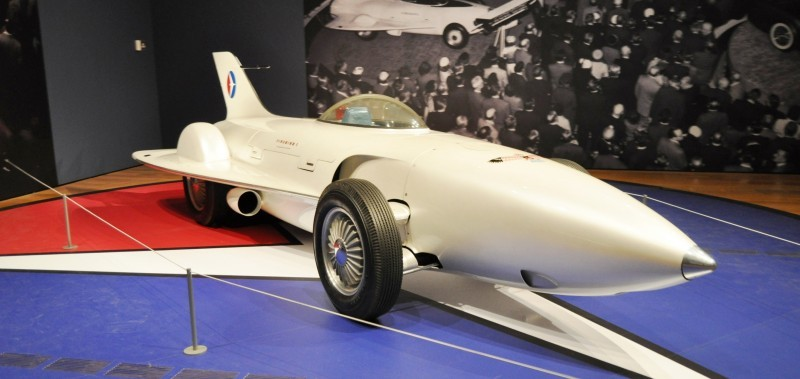 Car-Revs-Daily.com Atlanta Dream Cars Showcase - 1953 Firebird I XP-21 By General Motors 2