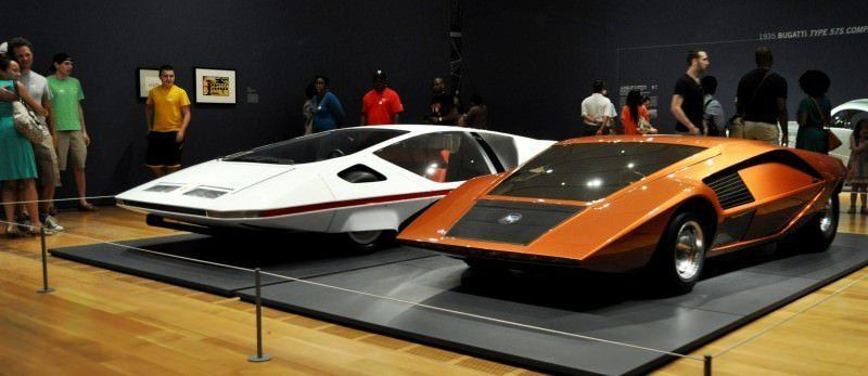 Car-Revs-Daily.com Atlanta Dream Cars Showcase - 1970 Ferrari 512 S Modulo by Pininfarina 1