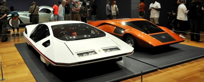 Car-Revs-Daily.com Atlanta Dream Cars Showcase - 1970 Ferrari 512 S Modulo by Pininfarina 20