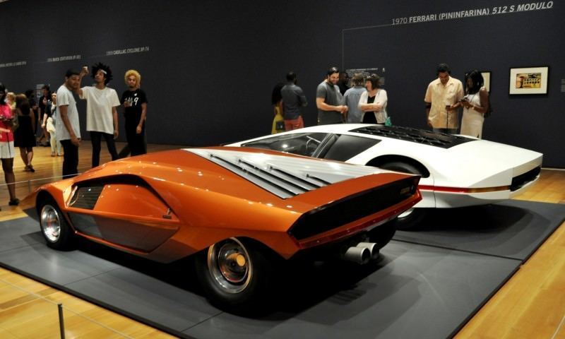Car-Revs-Daily.com Atlanta Dream Cars Showcase - 1970 Ferrari 512 S Modulo by Pininfarina 3