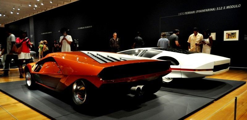 Car-Revs-Daily.com Atlanta Dream Cars Showcase - 1970 Ferrari 512 S Modulo by Pininfarina 4
