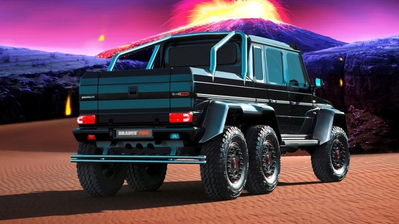 Car-Revs-Daily.com BRABUS 700G visits Krakatoa 1