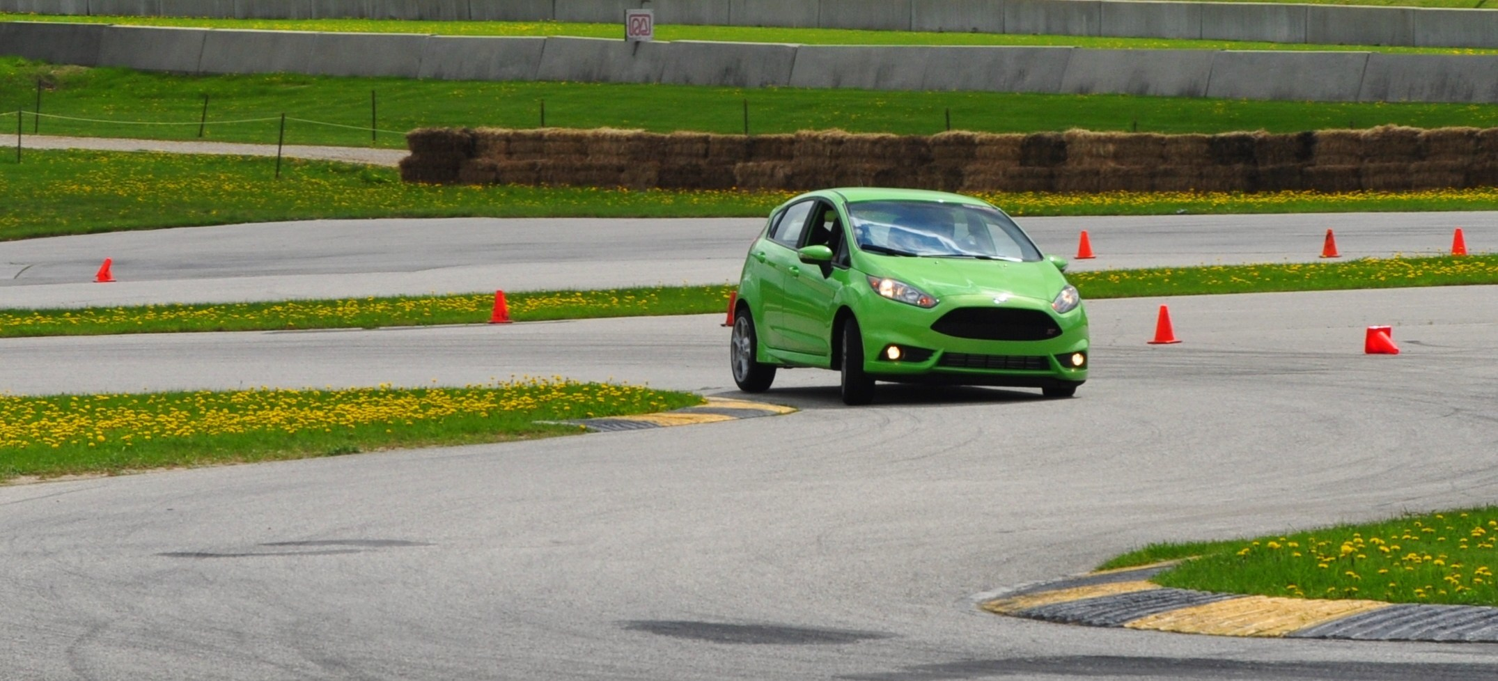 2014 Ford Fiesta St Is Most Fun On Autocross Track
