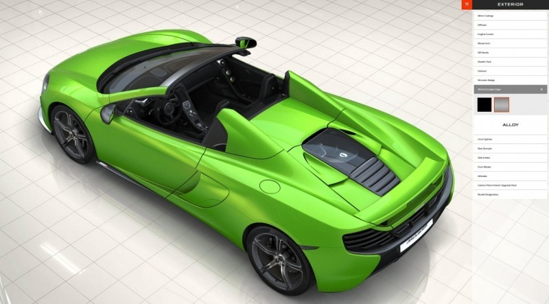 Car-Revs-Daily.com Builds a McLaren 650S Spider 55