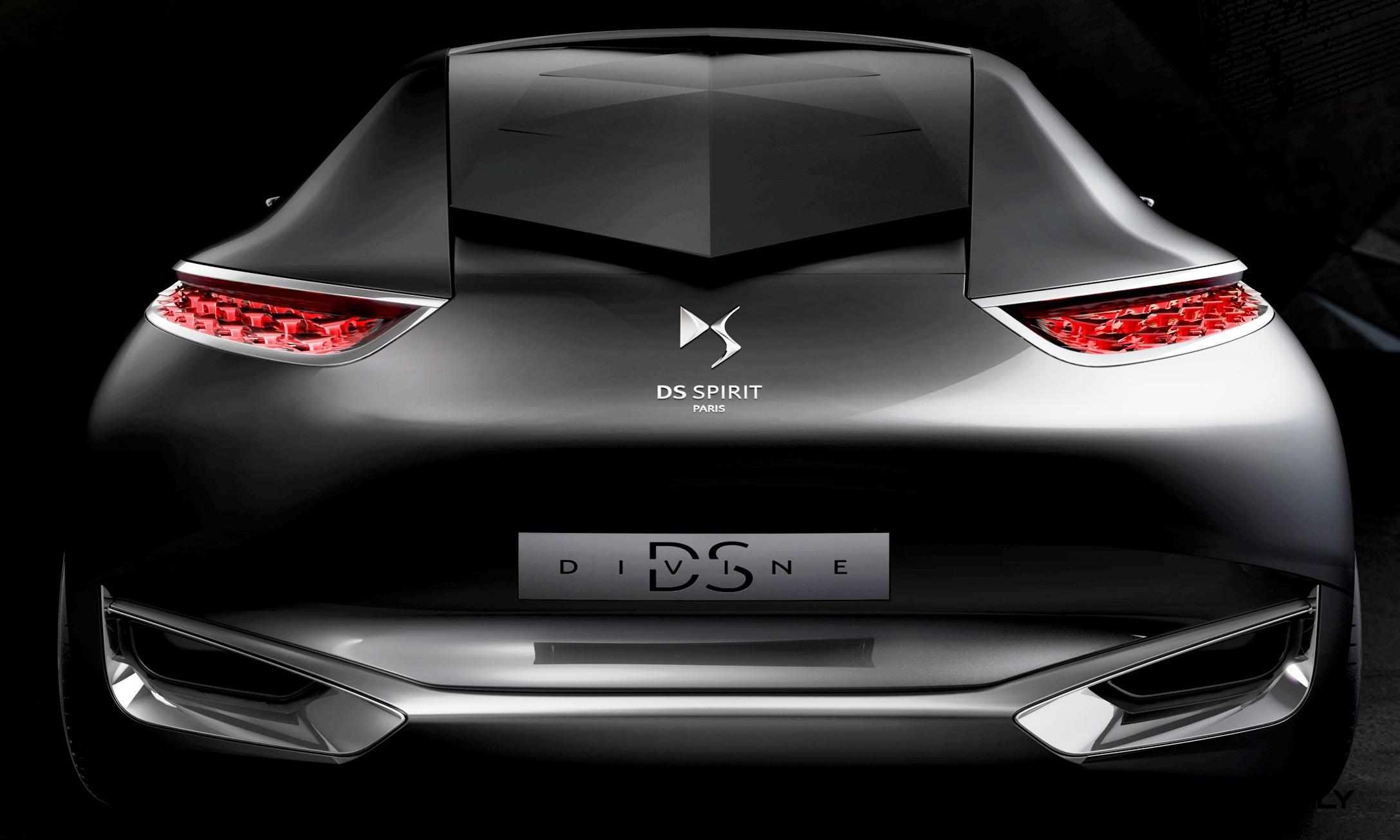 Citroen Divine DS Concept For Paris 2014 Shows Way For