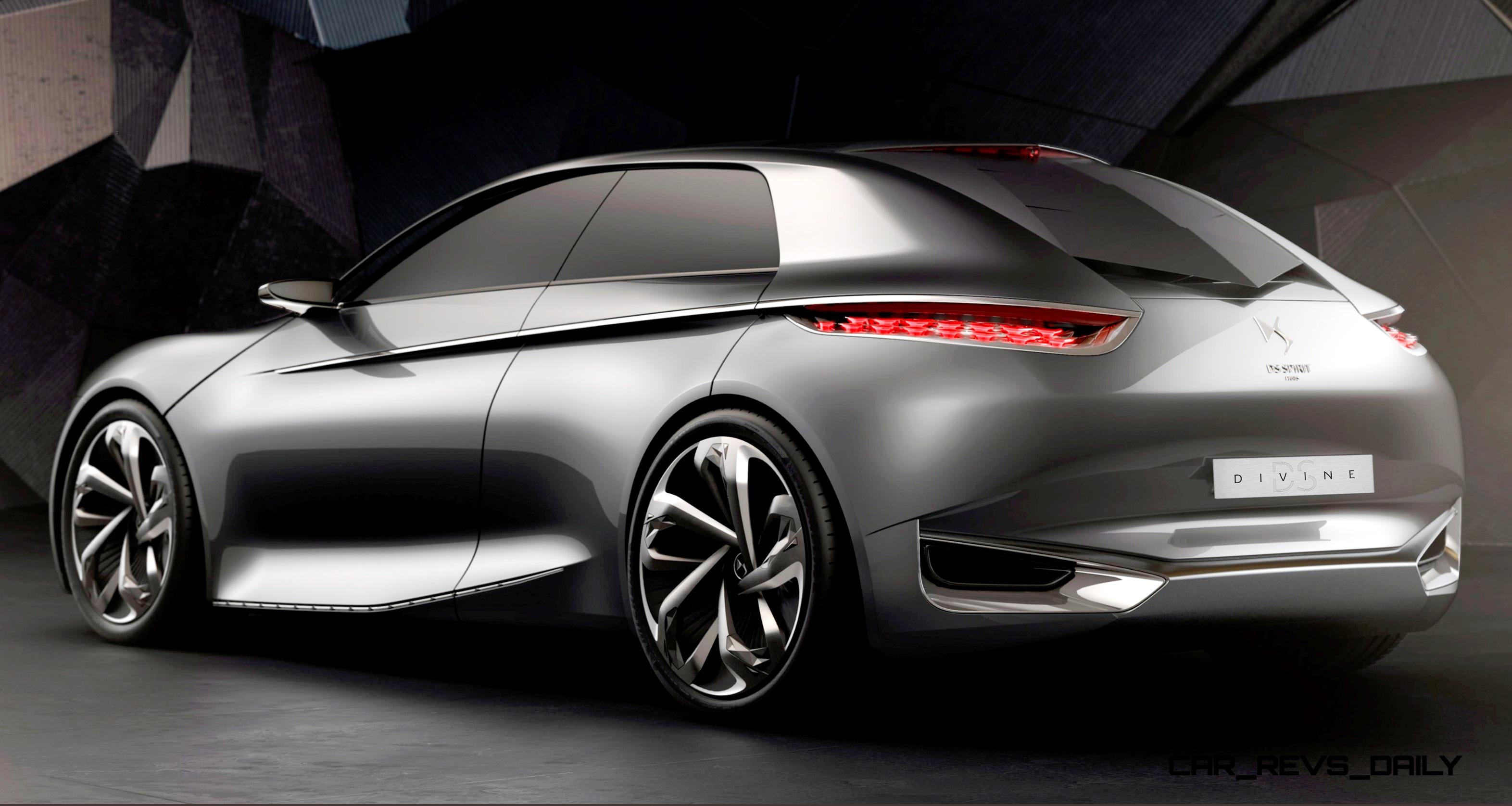citroen divine ds concept for paris 2014 shows way for 2016 ds4. Black Bedroom Furniture Sets. Home Design Ideas