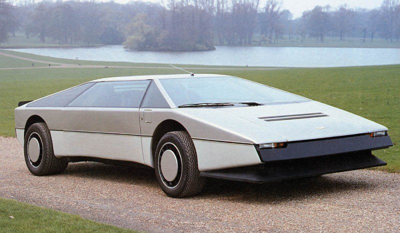 Car-Revs-Daily.com Concept Flashback - 1979 Aston Martin Bulldog vs 2014 Aston Martin DP-100 Vision GranTurismo 7