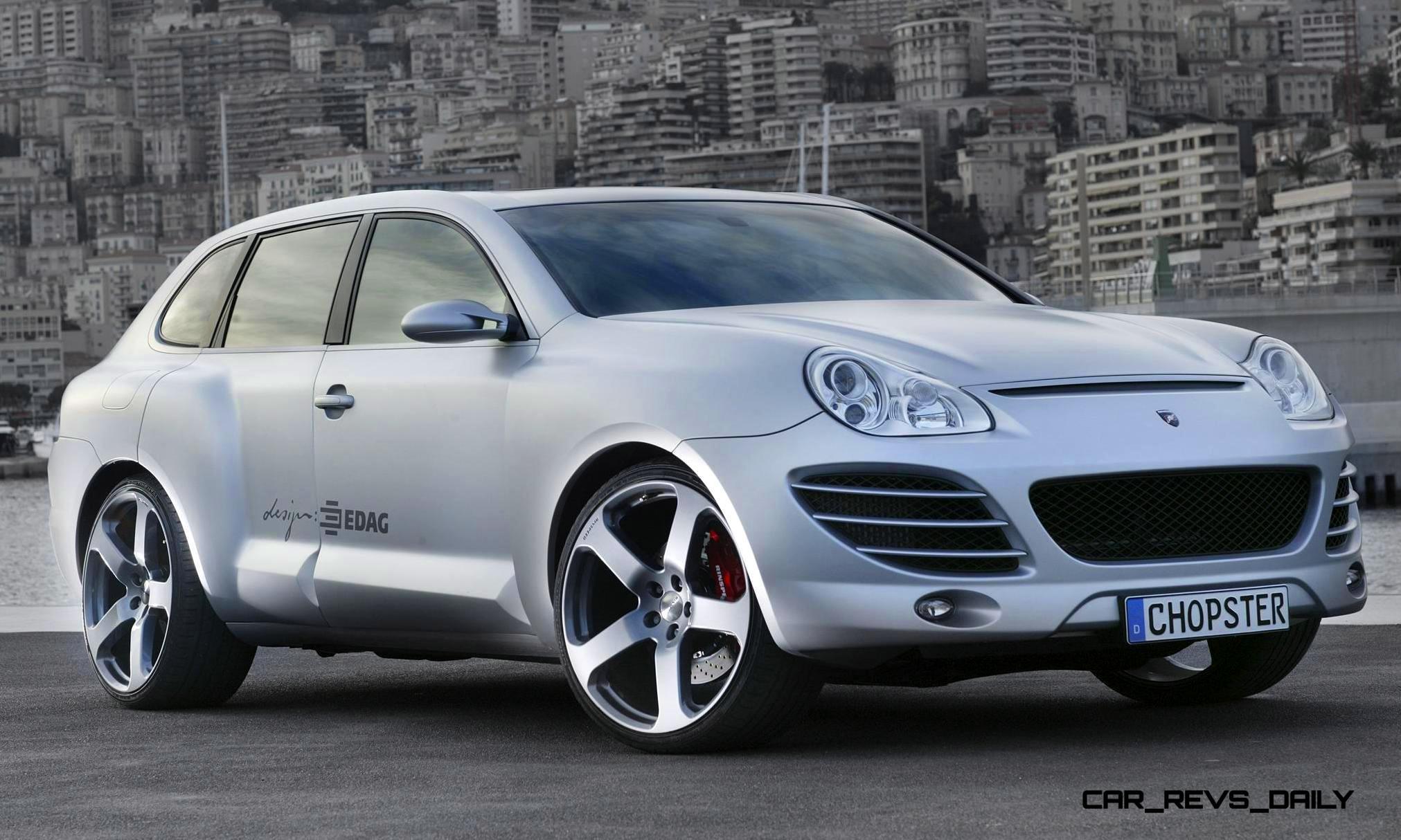 2005 RINSPEED Chopster Vs Porsche