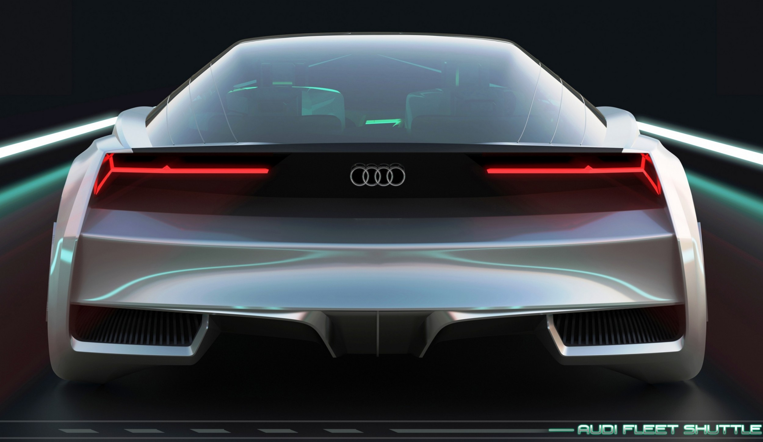 Concept Flashback 2013 Audi Fleet Shuttle Quattro
