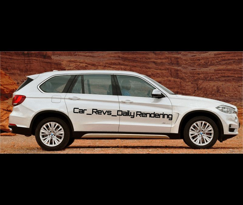 Car-Revs-Daily.com Digital Rendering of 2015 BMW X7 GIF big
