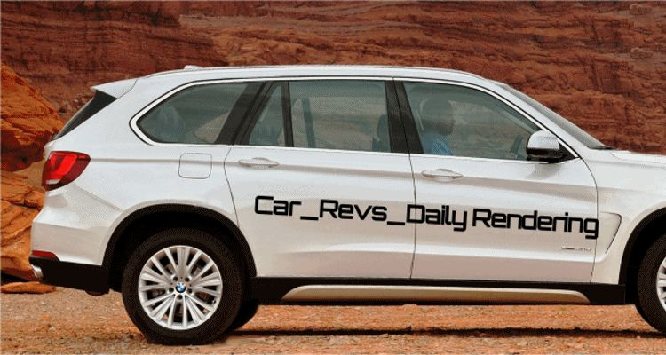 Car-Revs-Daily.com Digital Rendering of 2015 BMW X7 GIF