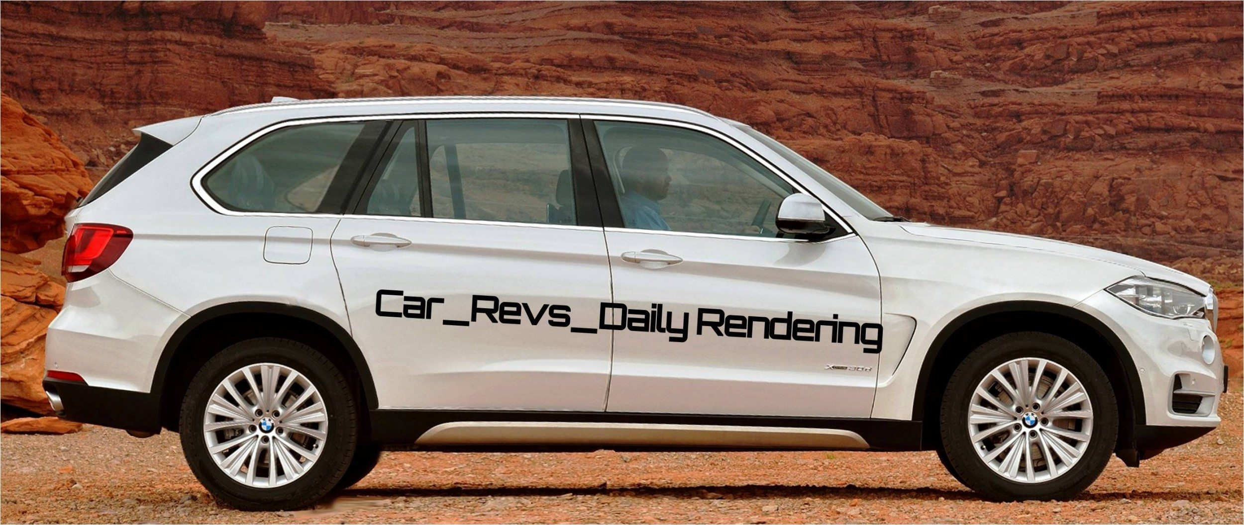 Car Revs Daily Digital Rendering Of 2015 BMW X7 Beside 2014