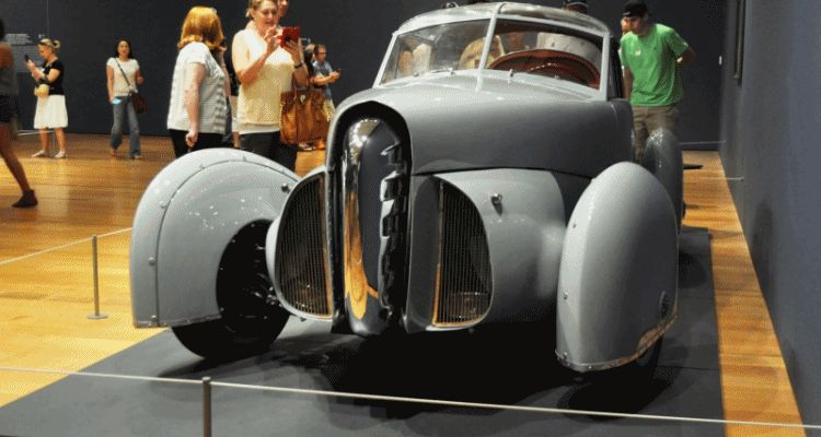 Car-Revs-Daily.com Dream Cars Exhibition TASCO GIF