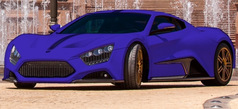 Car-Revs-Daily.com EXCLUSIVE 2014 ZENVO ST1 Colorizer Drafts 1