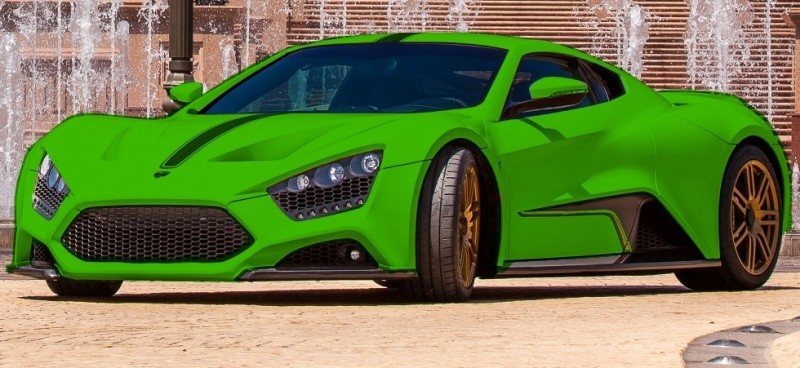 Car-Revs-Daily.com EXCLUSIVE 2014 ZENVO ST1 Colorizer Drafts 10