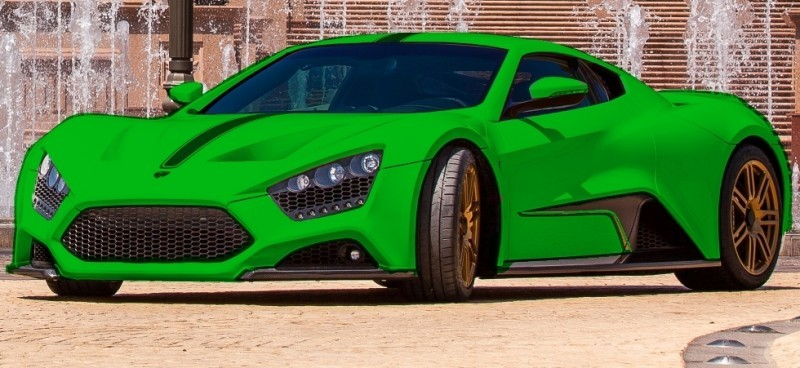 Car-Revs-Daily.com EXCLUSIVE 2014 ZENVO ST1 Colorizer Drafts 11