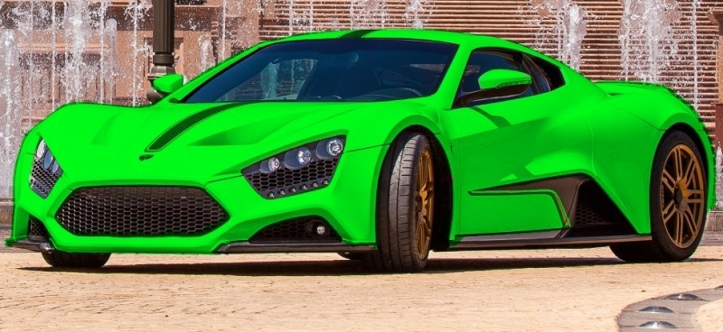 Car-Revs-Daily.com EXCLUSIVE 2014 ZENVO ST1 Colorizer Drafts 12