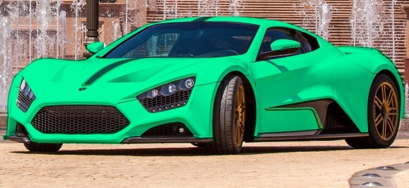 Car-Revs-Daily.com EXCLUSIVE 2014 ZENVO ST1 Colorizer Drafts 13