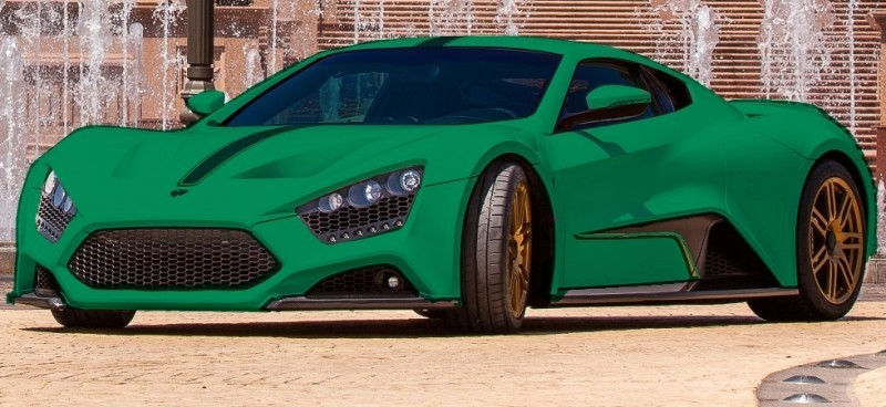 Car-Revs-Daily.com EXCLUSIVE 2014 ZENVO ST1 Colorizer Drafts 14