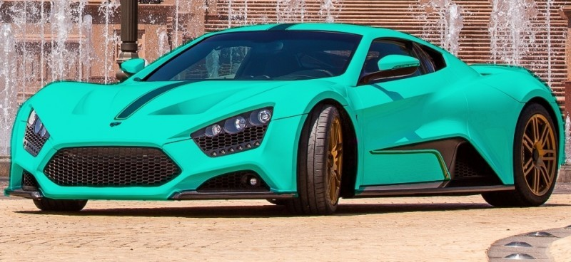 Car-Revs-Daily.com EXCLUSIVE 2014 ZENVO ST1 Colorizer Drafts 15