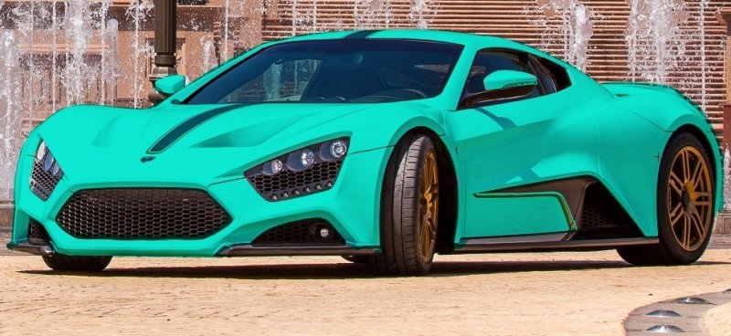 Car-Revs-Daily.com EXCLUSIVE 2014 ZENVO ST1 Colorizer Drafts 17