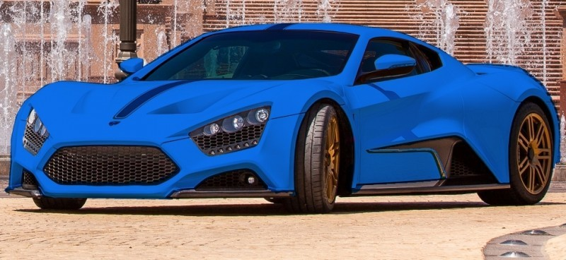 Car-Revs-Daily.com EXCLUSIVE 2014 ZENVO ST1 Colorizer Drafts 19
