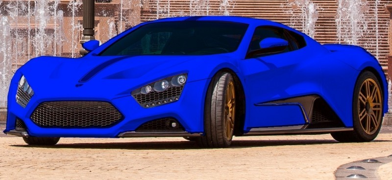 Car-Revs-Daily.com EXCLUSIVE 2014 ZENVO ST1 Colorizer Drafts 20
