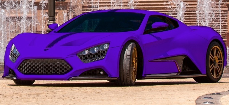 Car-Revs-Daily.com EXCLUSIVE 2014 ZENVO ST1 Colorizer Drafts 21