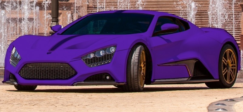 Car-Revs-Daily.com EXCLUSIVE 2014 ZENVO ST1 Colorizer Drafts 22