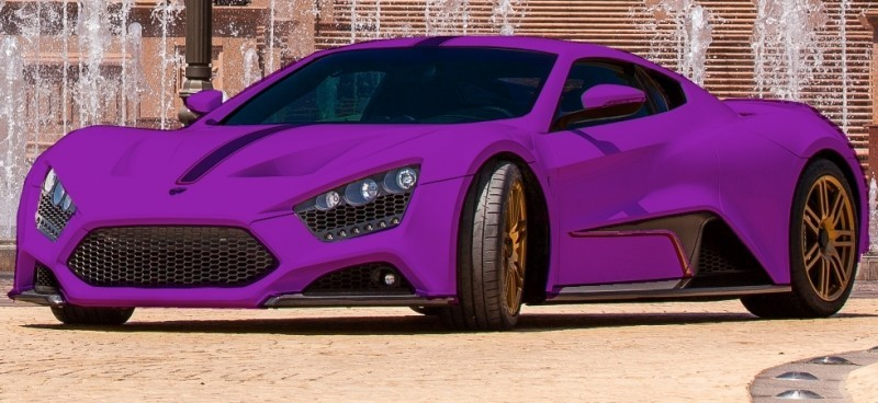 Car-Revs-Daily.com EXCLUSIVE 2014 ZENVO ST1 Colorizer Drafts 23