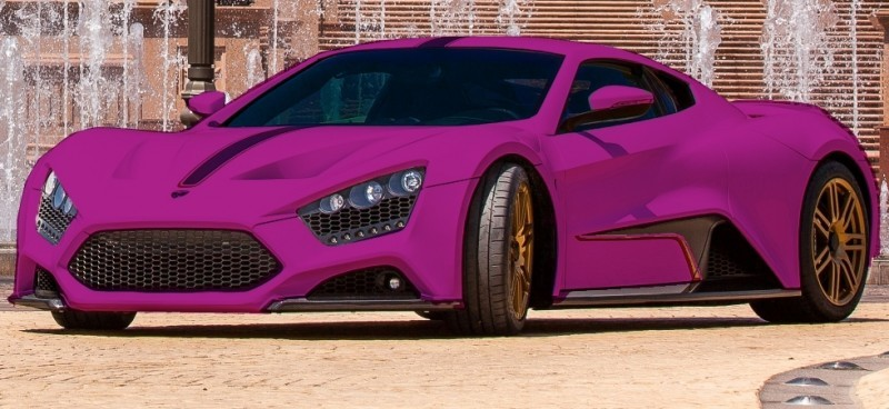 Car-Revs-Daily.com EXCLUSIVE 2014 ZENVO ST1 Colorizer Drafts 24