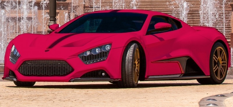 Car-Revs-Daily.com EXCLUSIVE 2014 ZENVO ST1 Colorizer Drafts 25